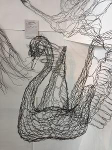 Sasquan art: swan