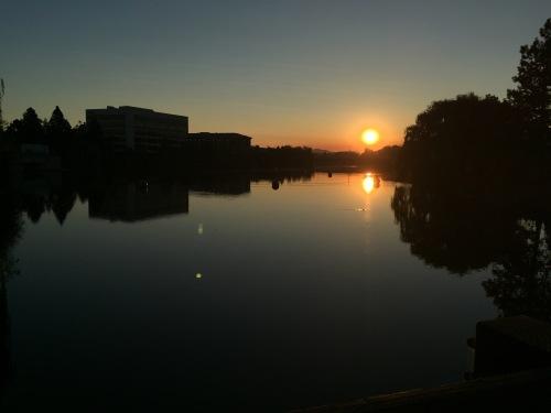 Spokane sunrise