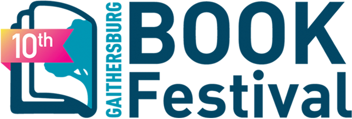 10th Gaithersburg Book Festival logo