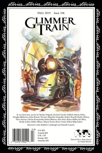 Cover of Glimmer Train Stories, Issue 106, Fall 2019